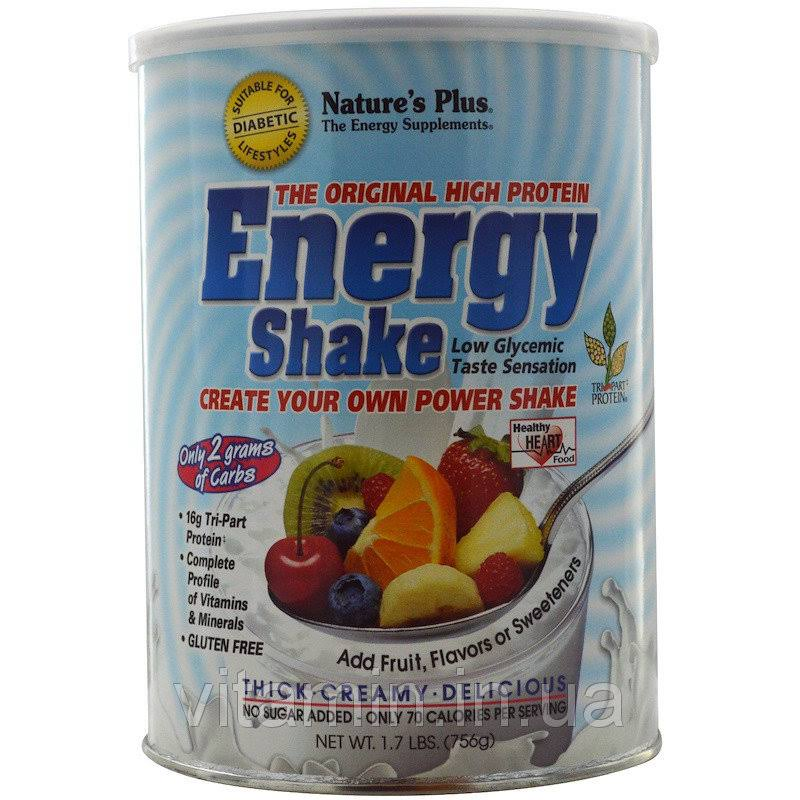 Natures Plus Energy Shake - 1.7 lb canister