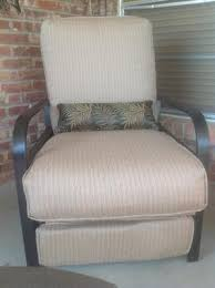 Outdoor Recliner Chair Walmart by Woven Outdoor Recliner Beige Walmart Com