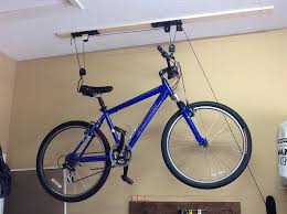 how to install a bicycle lift on your garage ceiling snapguide