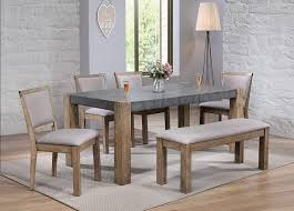 Amazon.com - ACME Furniture Paulina II Bench, Gray/Brown - Table Benches Coaster Jamestown Rustic Live Edge Ding Table Muses 5piece Round Set With Slipcover Parsons Chairs By Progressive Fniture At Lindys Company Tips To Mix And Match Room Successfully Kitchen Home W 4 Ladder Back Side Universal Belfort Bradleys Etc Utah Mattrses Fine Parkins Parson Chair In Amber Of 2 Burnham Bench Scott Living Value City John Thomas Thomasville Nc Hillsdale 4670dtbwc4 Coleman Golden Brown