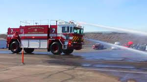 Refurbished Oshkosh T1500 ARFF Operational Testing | Firetrucks ...