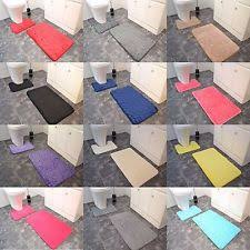 Royal Blue Bath Mat Set by Bath Mats Ebay