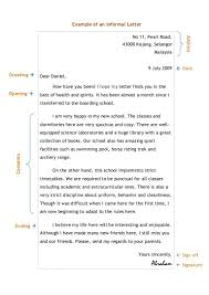 12 an informal letter example