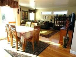 Area Rug Under Dining Room Table Carpet Under Kitchen Table Rug