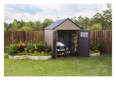 rubbermaid roughneck gable storage shed common 7 ft x 7 ft