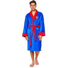 robe de chambre en robe de chambre superman à 40 46