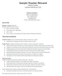 First Year Teacher Resume Samples Physics Template Of Resumes Examples