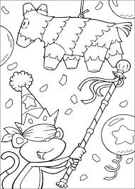Lion The King Birthday Party Coloring Page