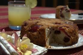 plum n cherry kuchen turmeric n spice