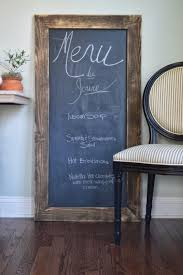 Pre cut chalkboards from Home Depot are definitely one of our
