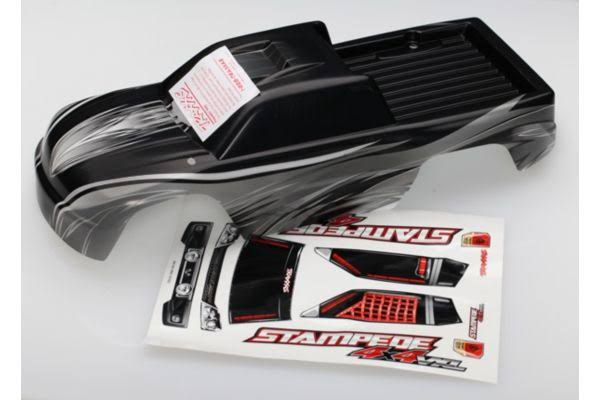 Traxxas 6711X Body Stampede 4x4 ProGraphix W/DECAL Sheet
