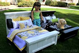 cute new american doll beds you can make in an afternoon from