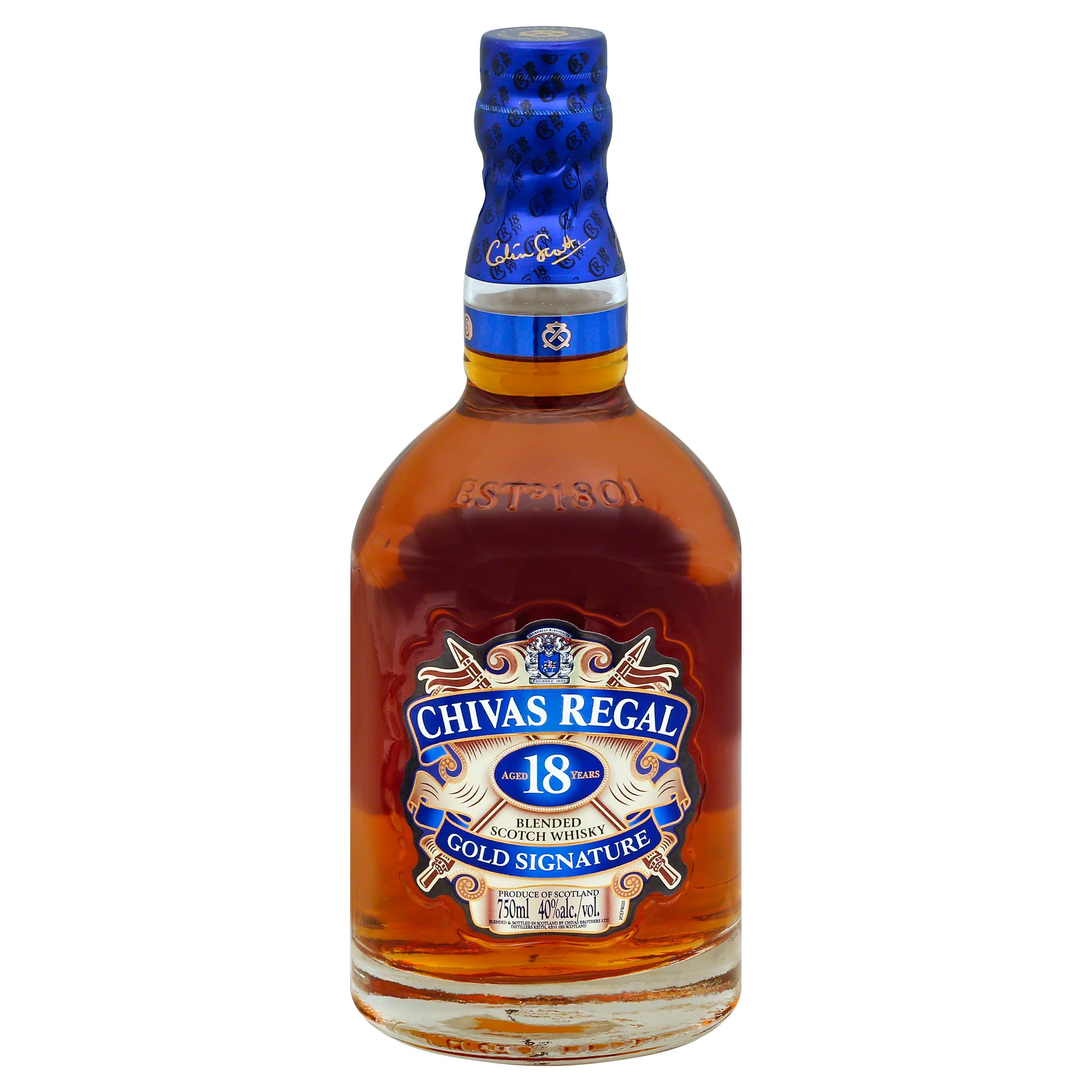 Chivas Regal Scotch Wiskey - 750ml