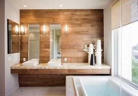 badezimmer mit holz badezimmer holzfliesen wand tolle