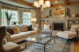 Cottage Livingroom Neutral Cottage Living Room Ideas
