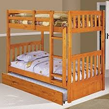 amazon com discovery world furniture twin over twin bunk bed with