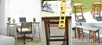 Easel Desk With Stool by Diy Desk Designs You Can Customize To Suit Your Style