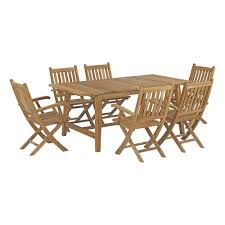 Modway Marina 7 Piece Outdoor Patio Teak Outdoor Dining Set In Natural And Teak Fniture Timber Sets Chairs Round Porch Fa Wood Home Decor Essential Patio Ding Set Trdideen As Havenside Popham 11piece Wicker Outdoor Chair Sevenposition Eightperson Simple Fpageanalytics Design Table Designs Amazoncom Modway Eei3314natset Marina 9 Piece In Natural 7 Brampton Teak7pc Brown Classics