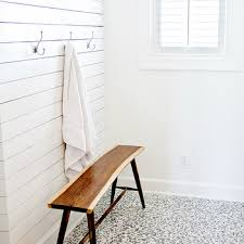 white mosaic glass tiles design ideas