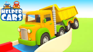 100 Kids Dump Truck Helper Cars And S For The Big Car Cartoons Toddler Learning Videos