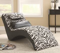 Zebra Bedroom Decor by Furniture Teen Room Decor With White Modern Lounge Chair Near