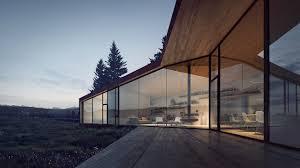 100 Todd Saunders Architect Carraig Ridge Banff Canada Ure