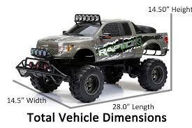 100 Rc Truck With Plow New Bright RC 16 Scale Ford Raptor Walmartcom