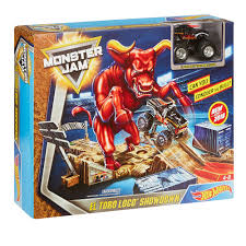 Hot Wheels Monster Jam El Toro Loco Showdown Playset | Toys R Us Canada