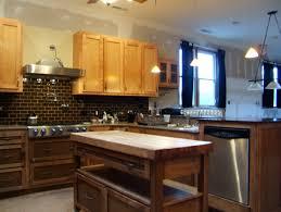 kitchen cabinets bottom white top taste