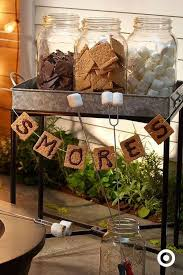 Rusti Smores Bar For Any Outdoor Party