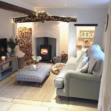 Cottage Livingroom Happy Friday Fires Already Lit Preparing To Cosy Up For