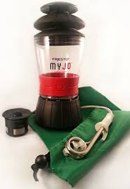 MyJoTM K Cup Travel Coffee Maker Combo