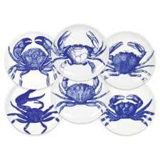 crab canapes set of six caskata blue crab canapes
