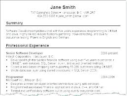 Summaries For Resumes Examples Summary Resume Students Example