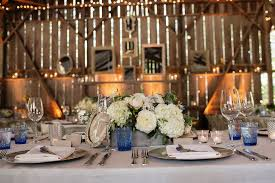 Barn Wedding Rustic Centerpieces Grey Wood Box With White Flowers Antique Mirror