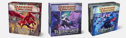 Dungeons Dragons Board Game Bundle