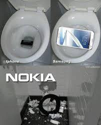 iPhone Vs Samsung Vs Nokia