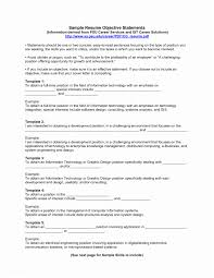 Objectives For A Resume Objective Examples Professional Resumes Of