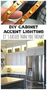 how to install cabinet lighting in your kitchen kitchens