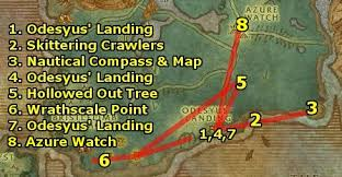 Wow Brackwell Pumpkin Patch Map by Ding80 U0027s Draenei Leveling Guide Level 1 12