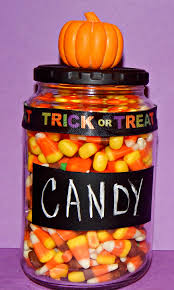 Halloween Candy Dish With Lid by Chalkboard Candy Treat Jar This Ole Mom