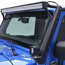 52 Inch Straight Light Bar Mount For Jeep Wrangler JK