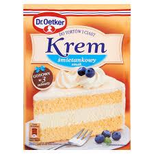 dr oetker sahne kuchen und gebäck sahnegeschmack 120g