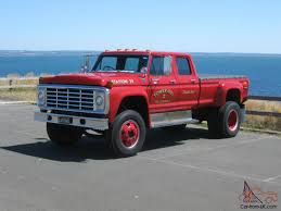 Ford F100 F250 F350 Buyers Take Note F600 Factory Built Crew CAB BIG ...