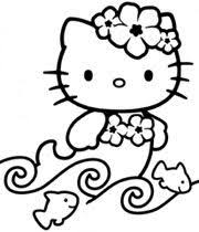 Interactive Magazine HELLO KITTY CHRISTMAS COLORING SHEETS See More A Kitty Mermaid