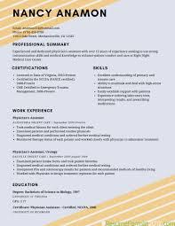 Best Resume Writing Format