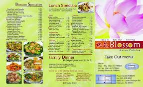menu cuisine az blossom cuisine home tolleson arizona menu prices