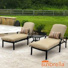 Cast Aluminum Patio Furniture With Sunbrella Cushions by Chaise Image Of Chaise Lounge Outdoor Furniture Pool Dimensions