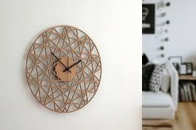 polygon wand uhr holz wohnzimmer uhr home decor holz dekor moderne wanduhren stille natürliche eiche uhr geschenk für zu hause