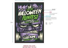 Free Halloween Flyer Templates by Vampire Halloween Flyer Template Download Free Vector Art Stock